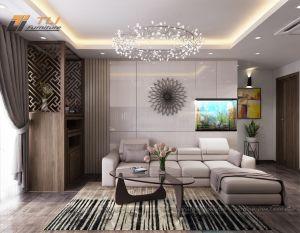 Thiết kế nội thất chung cư AZ Lâm Viên - Anh Hậu