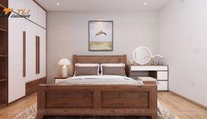 Thiết kế nội thất chung cư Bộ Công An - Chú Kề