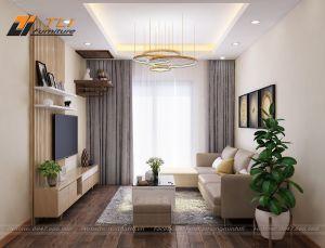 Thiết kế nội thất chung cư Ruby 2 Goldmark - căn hộ chị Thúy