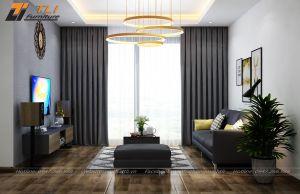 Thiết kế nội thất chung cư anh Lợi - One 18 Ngọc Lâm