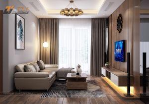 Thiết kế nội thất chung cư 3 phòng ngủ - CT4 Vimeco