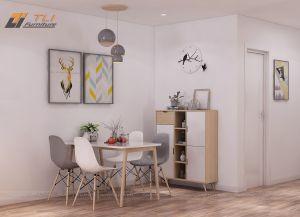 Thiết kế nội thất chung cư 2 phòng ngủ - Anh Lâm