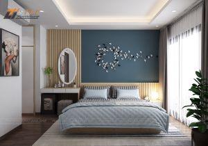 Thiết kế nội thất chung cư theo phong cách hiện đại - anh Phong
