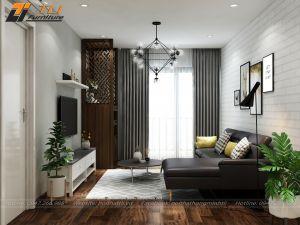 Thiết kế nội thất chung cư cho anh Tùng tại Gold Season
