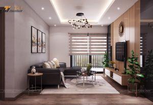 Thiết kế nội thất chung cư Chú Nhĩ - An Bình City