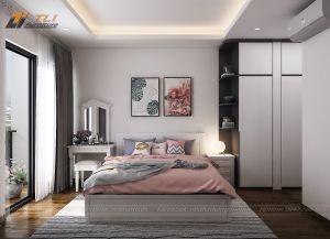 Ấn tượng thiết kế nội thất chung cư hiện đại tại An Bình City