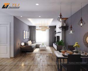 Thiết kế nội thất chung cư Chị Lan - FLC Star Tower
