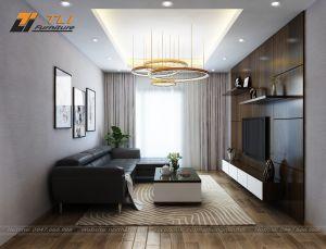 Thiết kế nội thất căn hộ chung cư chú Sang - Tòa A7 An Bình City