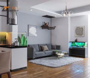Mẫu thiết kế nội thất chung cư 3 phòng ngủ - Westa Hà Đông