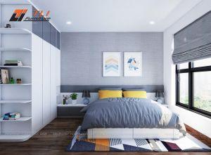 Mẫu thiết kế nội thất chung cư hiện đại cho gia đình chú Hà