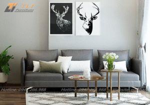 Ghế sofa văng nỉ cao cấp - TLIVN02