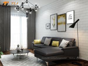 Ghế sofa góc giá rẻ cho phòng khách hiện đại  - TLILD05