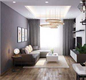 Mẫu ghế sofa góc đẹp cho phòng khách - TLILD06