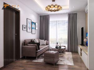 Ghế sofa nỉ cho phòng khách nhỏ - TLIVD10