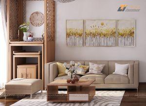 Bộ ghế sofa phòng khách giá rẻ - TLIVN11