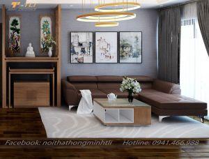 Ghế sofa phòng khách đẹp chữ L - TLILD10