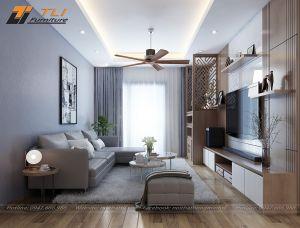 Ghế sofa da phòng khách hiện đại góc chữ L - TLILD11