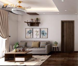 Ghế sofa văng nhỏ 2 chỗ hiện đại - TLIVN16
