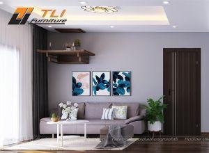 Ghế sofa nỉ giá rẻ tại Hà Nội đẹp sang trọng - TLIVN17