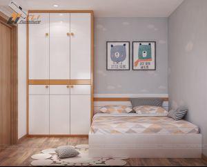 Mẫu thiết kế nội thất phòng ngủ trẻ em đẹp hiện đại