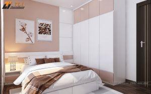 Nội thất phòng ngủ con gái lớn nhà chị Nga - An Bình City