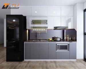 Thiết kế bếp đẹp sang trọng tại chung cư FLC Star