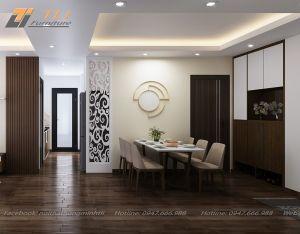 Thiết kế nội thất nhà bếp nhỏ cho gia đình chị Bằng