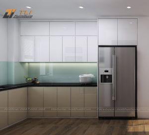 Thiết kế nội thất nhà bếp đẹp hiện đại - Anh Sơn