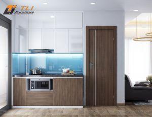 Mẫu trang trí không gian nhà bếp hiện đại tại Hà Nội