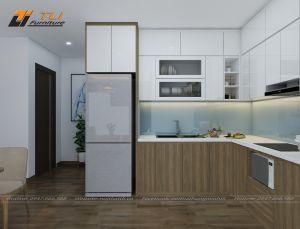Không gian nhà bếp đẹp tại chung cư An Bình City