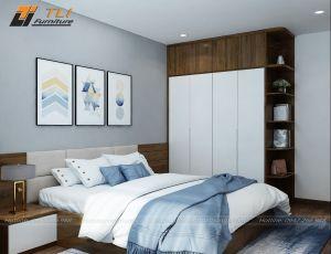 Mẫu nội thất phòng ngủ đẹp hiện đại tại Golden Heart