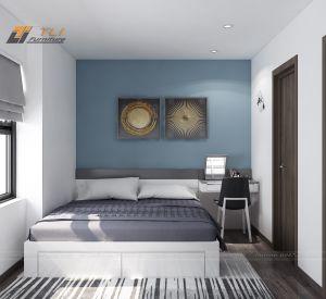 Thiết kế nội thất phòng ngủ nhỏ tại Cienco 5 Thanh Hà