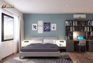 Mẫu nội thất phòng ngủ sang trọng tại chung cư Goldmark City