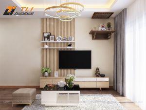 Mẫu phòng khách đẹp sang trọng tại Goldmark City