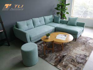 Mẫu ghế sofa nỉ đẹp cho phòng khách sang trọng - TLILN15