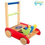 Xe tập đi bằng gỗ phát âm thanh vui nhộn cho bé ChildToy