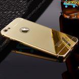Ốp lưng tráng gương viền kim loại Iphone 6 Plus và Iphone 6s Plus
