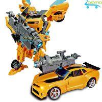Robot biến hình ôtô Transformer cao 20cm mẫu Bumble Bee