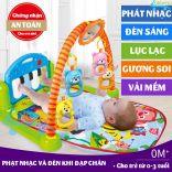 Giường phát nhạc vui nhộn cho bé Udary UR-GN07