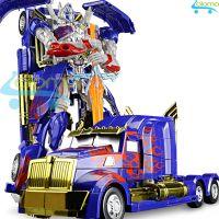 Robot biến hình ôtô Transformer cao 35cm mẫu Optimus Prime 6699-14D