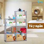 Tủ đựng đồ 7 ngăn đa năng HomeBi HB-7N để đồ nhà bếp, phòng tắm, phòng ngủ