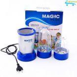 Máy say sinh tố 2 cốc đa năng vỏ kim loại Magic Plus Mp-01