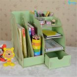 Kệ gỗ để bàn đựng tài liệu sách vở đồ dùng Homebi HB-KG01