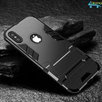 Ốp lưng kiêm giá đỡ cho Iphone sang trọng KUMENG KM-IP88