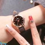 Đồng hồ nữ dây da chống nước KEZZI mặt 26mm KZ-1028G
