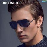 Kính mát thời trang nam 7 lớp hàng hiệu HDCRAFTER E008 chống lóa chống tia UV