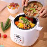 Nồi cơm điện mini 2L UXUE YX-2040 nấu cơm hâm nóng nấu cháo làm bánh