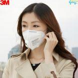 Combo 5 khẩu trang chính hãng 3M 9002V 5 lớp lọc bụi siêu vi PM 2.5 đeo 1 tháng