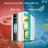 Tủ lạnh mini 10 lít SAST ST10L 2 chế độ làm lạnh hâm nóng cho gia đình và trên ô tô