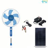 Quạt tích điện năng lượng mặt trời Sunisi DC51 nguồn điện gia đình hoặc điện mặt trời
